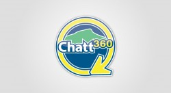 Chatt360 250x136 Logo Design