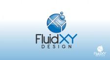 FluidXY 225x123 Logo Design