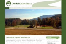OutdoorAssociates 250x169 Web Design