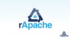 rApache 225x123 Logo Design