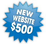500 $500 CMS Website Package