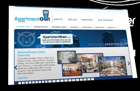 aptOwl Web Design Portfolio